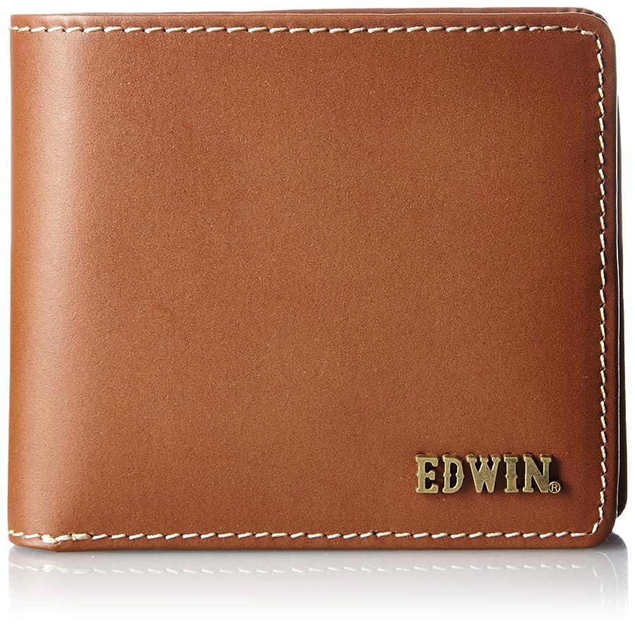 集める裕福な最少二つ折財布 ボンデッドレザー メタルロゴ 再生革 紙幣収納 小銭収納 カードポケット 22209002
