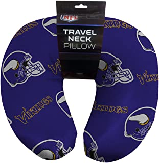 "NFL Minnesota Vikings Neck Pillow, 12"" x 13"" x 3"""