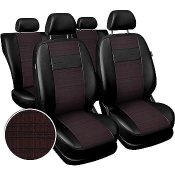 Universal Schonbezug Schonbezüge Sitzbezug Sitzbezüge RS rot TOYOTA