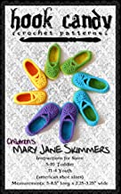 Children's Mary Jane Skimmers: Hook Candy Crochet Patterns