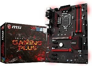 MSI Arsenal Gaming Intel Kaby Lake Z270M DDR4 HDMI USB 3 Crossfire ATX Motherboard (Z270 Gaming Plus) (Renewed)