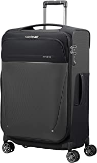 SAMSONITE B-Lite Icon - Spinner 71/28 Bagaglio a Mano Espandibile 83L, 2.6 KG, Nero (Black)