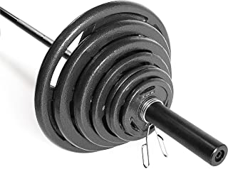 CAP Barbell 300-Pound Olympic Set (Includes 7 Ft Bar)
