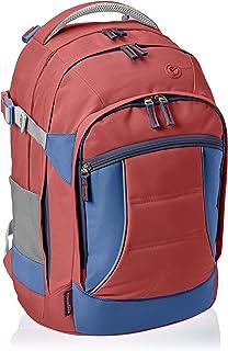 Amazon Basics - Mochila ergonómica (roja, 30 litros)