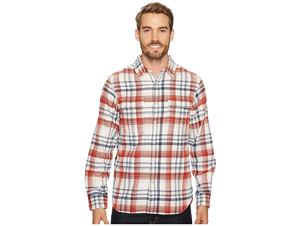 The North Face Long Sleeve Arroyo Flannel Shirt (Vintage White Plaid) Men