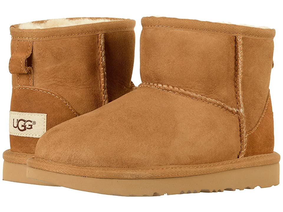UGG Kids Classic Mini II (Little Kid/Big Kid) (Chestnut) Kids Shoes