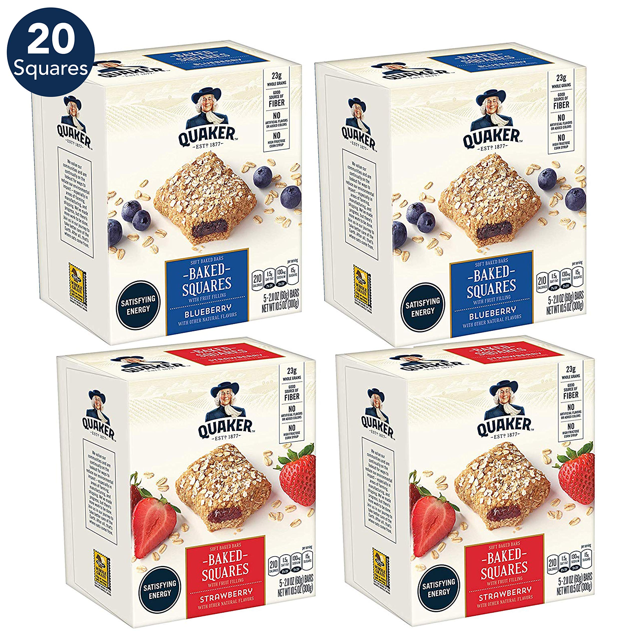 Breakfast Squares Variety Pack Count