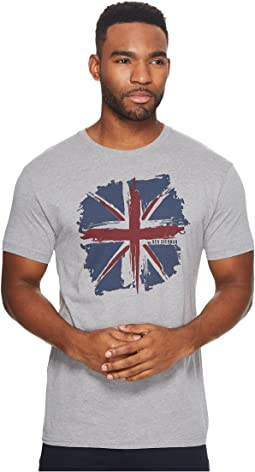 Ben Sherman - Short Sleeve Union Jack Splash Graphic Tee