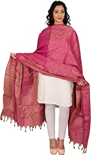 29ac860815 Amazon.in: Pinks - Chunnis & Dupattas / Ethnic Wear: Clothing ...