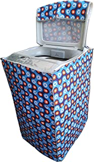 Smart Shelter Washing Machine Cover Suitable for Fully Automatic Top Load 6 kg, 6.2 Kg, 6.5 Kg, 7 Kg(for Machines with Ins...