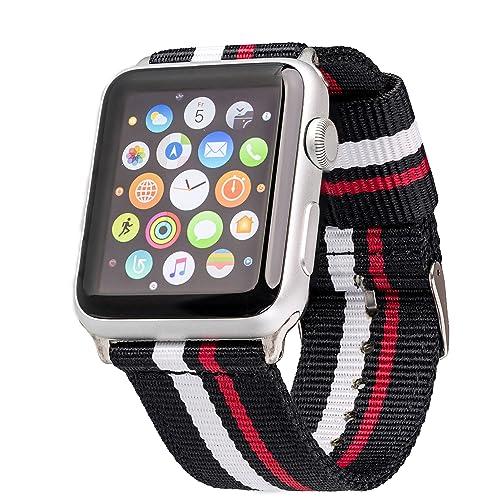 62998da6b59 LOJI Premium Nato Apple Watch Bracelet for Apple Watch
