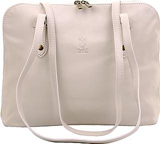 Primo Sacchi® Ladies Italian Soft Leather Large Long Handled Shoulder Bag Handbag, Includes a Branded Protective Storage Bag