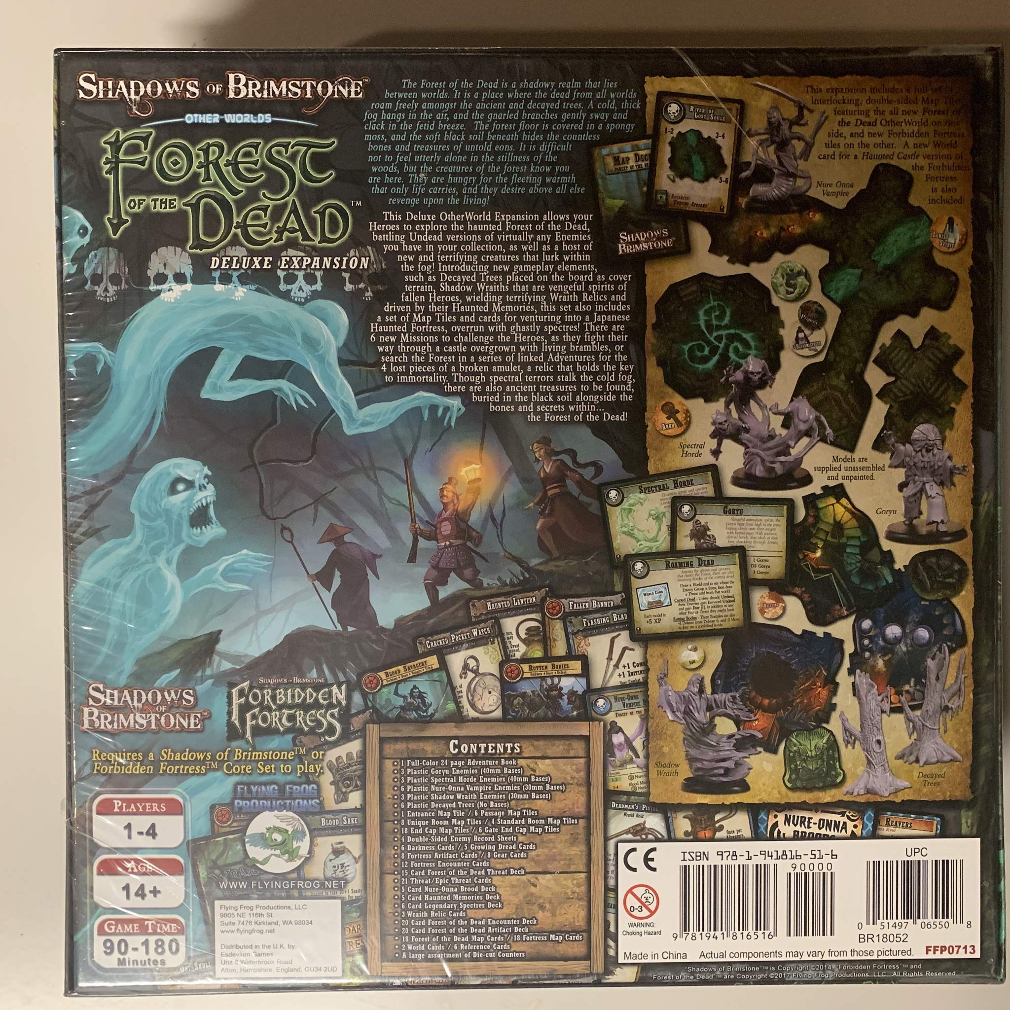 Shadows of Brimstone FFP0713 Flying Frog Forest of the Dead Deluxe Expansion