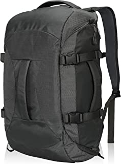 Hynes Eagle Travel Backpack 4 Way Duffel Backpack Water Repellent Gym Sports Bag for Women Men, Grey