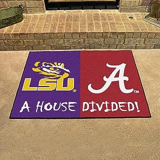 NCAA House Divided: LSU/Alabama Rug, 34