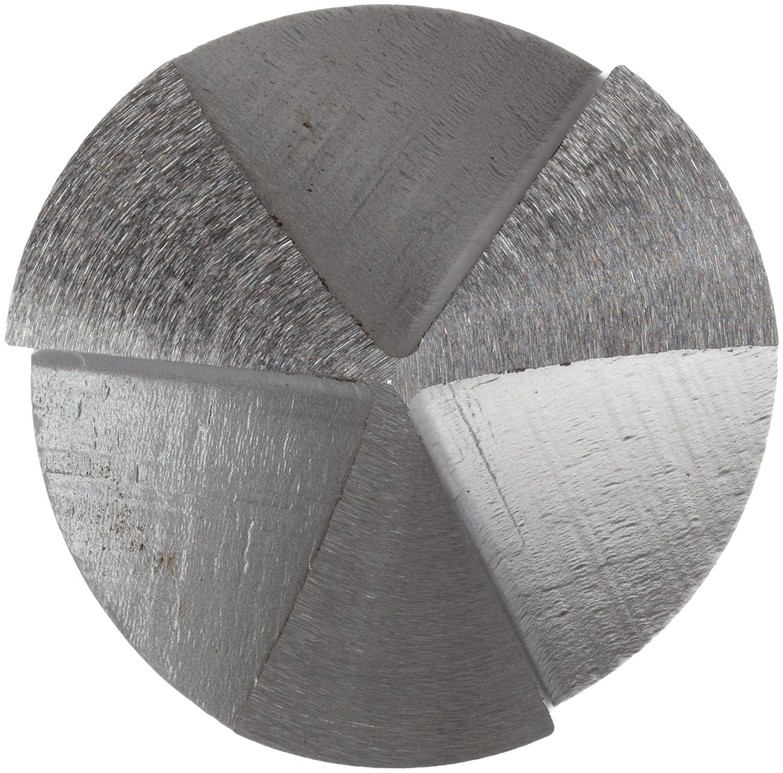 1//2 Inch Shank Diameter 3//4 Inch Body Diameter 3-Flute Alvord Polk 179-0 High-Speed Steel Center Reamer Uncoated Finish 82 Degree Angle