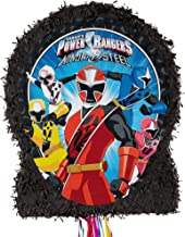 Ya Otta Pinata Pull String Power Rangers Pinata, Birthday Party Activities, 2lb Filler Capacity, 18 x 3 x 21 1/2 Inches