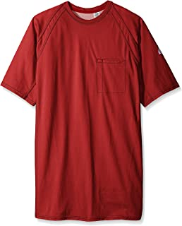 Bulwark Men's Iq Series Big-Tall Short Sleeve Comfort Knit T-Shirt