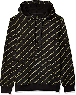 True Religion Men's Ls All Over Print Hoodie
