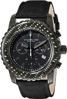 Stuhrling Original Men's 3268.04 Felucca Date Black