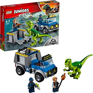 LEGO® Juniors Jurassic World Raptor Rescue Truck 10757 Playset Toy