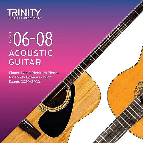 Grades 6-8 Acoustic Guitar Fingerstyle & Plectrum Pieces for Trinity College London Exams 2020-2023 de Various artists en Amazon Music - Amazon.es