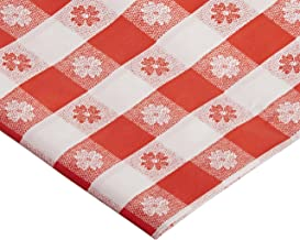 Hoffmaster 112006 Plastic Tablecover Gingham