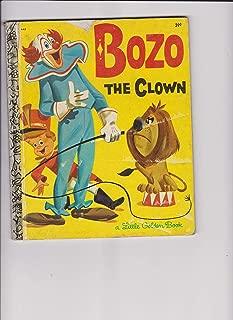 Bozo the clown (Little golden book)
