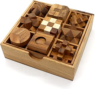 Best wooden brain teaser star puzzle Reviews
