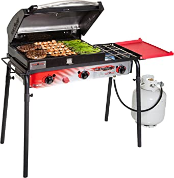 Camp Chef SPG90B Propane Gas Grill with 3 Burners