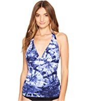 Bleu Rod Beattie - Get Wet Halter Tankini