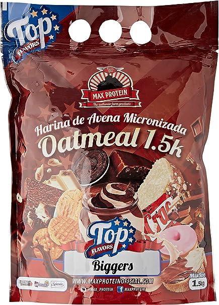 Oatmeal Top Flavors - 1.5Kg - Sabor Turrón crujiente BlackMax