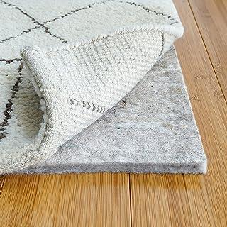 "RUGPADUSA - Basics - 5'x8' - 1/2"" Thick - 100% Felt - Protective Cushioning Rug Pad - Safe for All Floors and Finishes including Hardwoods"