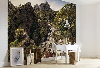 Komar SHX9-075 Non-Woven Photo Wallpaper Rainbow Lands XXL Decoration Nature Landscape Bedroom Living Room Office Hallway ...