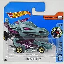 Hot Wheels 2017 Street Beasts Dragon Blaster (Dragon Car) 164/365, Pale Green
