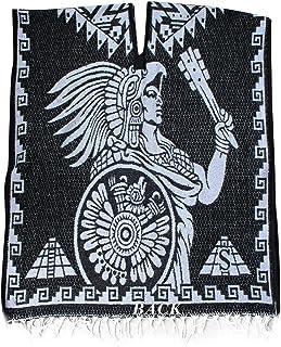بطانية كوبيجا جابان المكسيكية الأصلية من ديل ميكس - أسود وأبيض