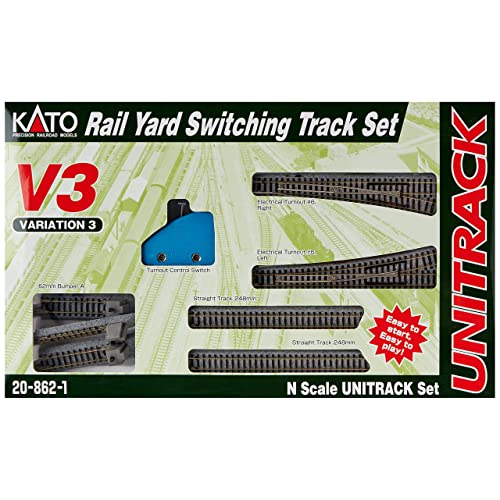 N Scale Train Track Switches: Amazon com