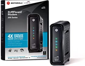 ARRIS SURFboard SB6121 4x4 DOCSIS 3.0 Cable Modem -Retail Packaging-Black