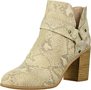 BC Footwear Women's Miss Independent Fashion Boot, Natural exotic, 9 B US