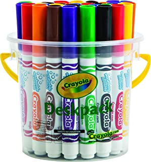 Crayola 32 Classic Ultra-Clean Washable Markers™  Deskpack (8 Colors)