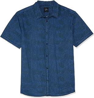 Hammersmith Men's Tyler SS Shirt, Navy