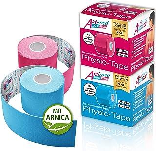 AKTIMED Tape PLUS Kinesiologie Tape – Sporttape mit pflanzlichem Extrakt Arnica D6* –..