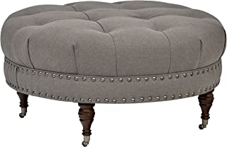Best tufted accent chair and nailhead ottoman Reviews