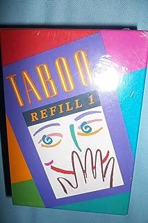 spanish taboo cards