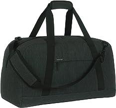 SONTOKO kleine Reisetasche, Leichte Umhängetasche, Handgepäck mit 34 Liter, 52x24x30 cm, Der Elegante Weekender in Dunkelgrau