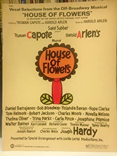 Vocal Selections From The Off-Broadway Musical House Of Flowers [Songbook]