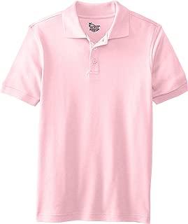 CLASSROOM Boys' Uniform Short Sleeve Interlock Polo