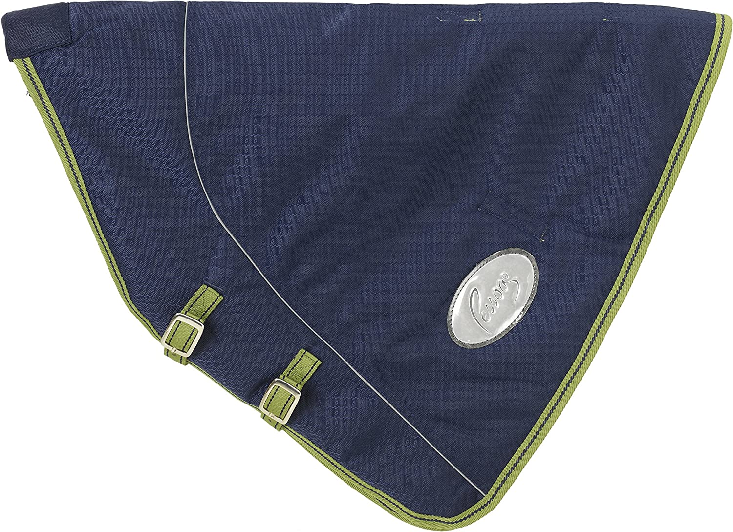 (Small (7274), Navy Lime)  Pessoa 1680D Neck Cover Small Navy Lime