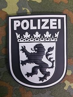 ATG Ärmelabzeichen Polizei Hessen 3 D Rubber Patch (BlackOps)