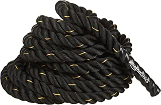 Amazon Basics Battle Exercise Training Rope - 30/40/50 Foot Lengths, 1.5/2 Inch Widths